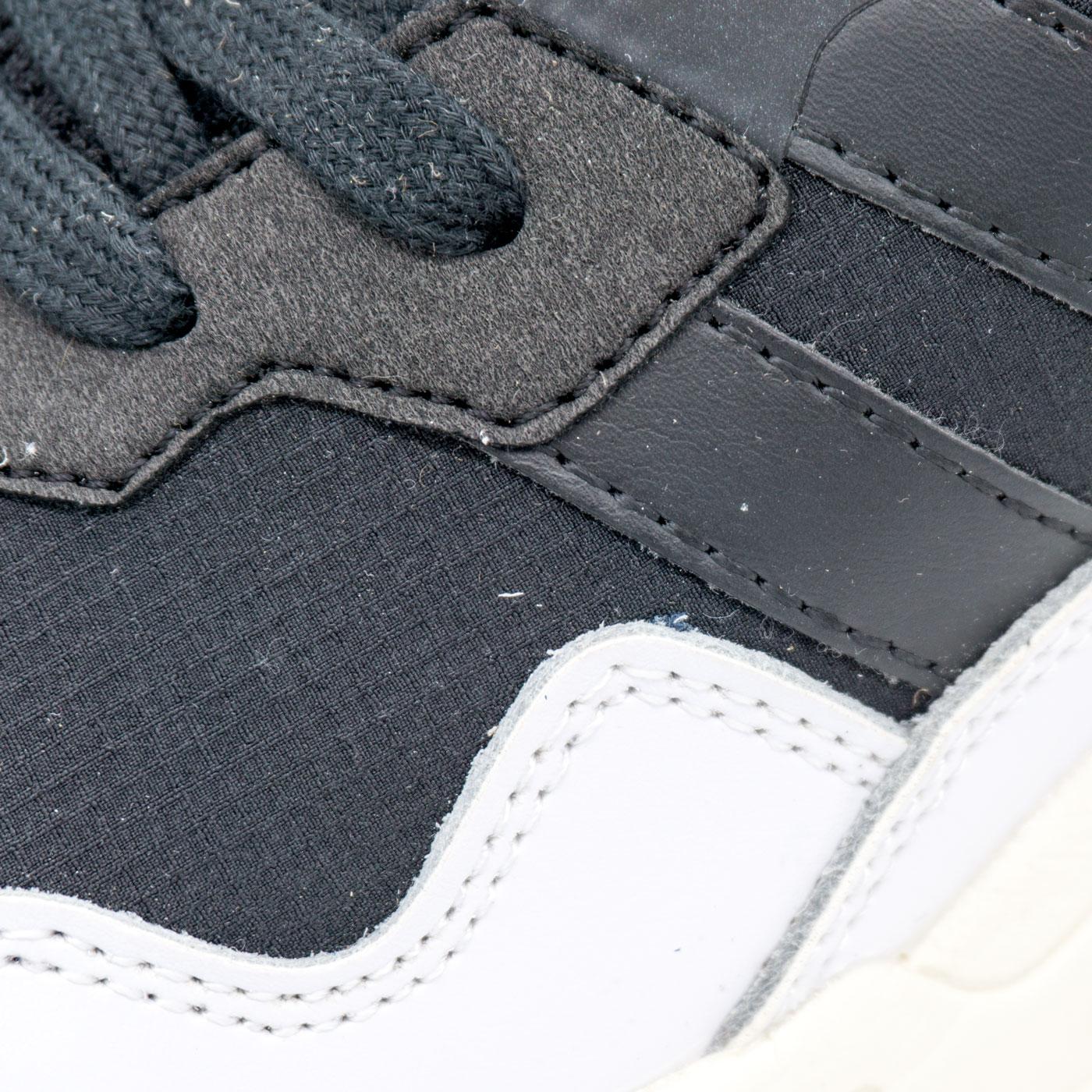 большое фото №5 Кроссовки Adidas Yung-96 черно-белые. Топ качество!