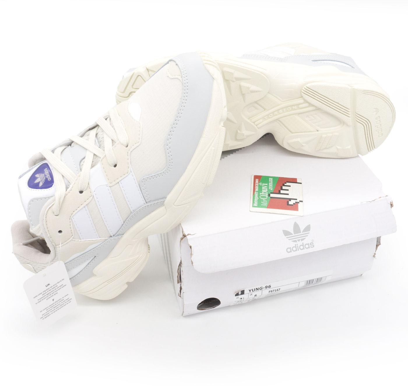 фото bottom Кроссовки Adidas Yung-96 бежевые. Топ качество! bottom