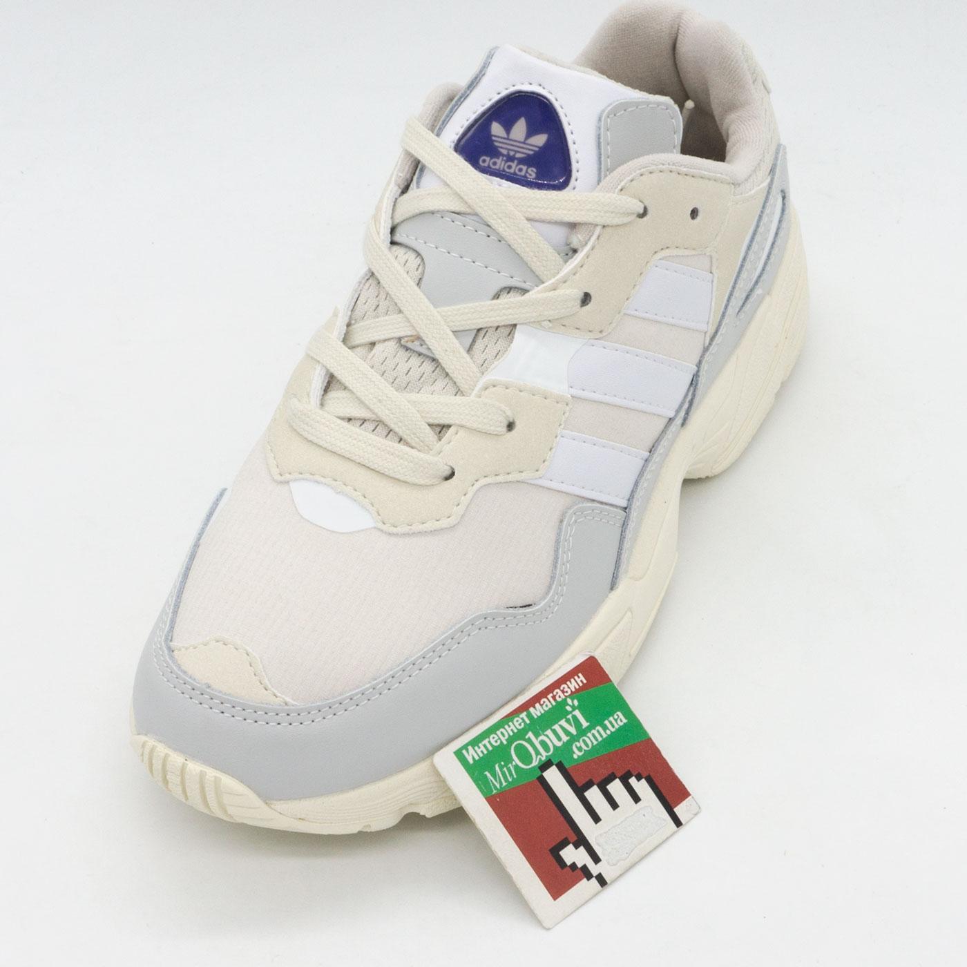 фото front Кроссовки Adidas Yung-96 бежевые. Топ качество! front