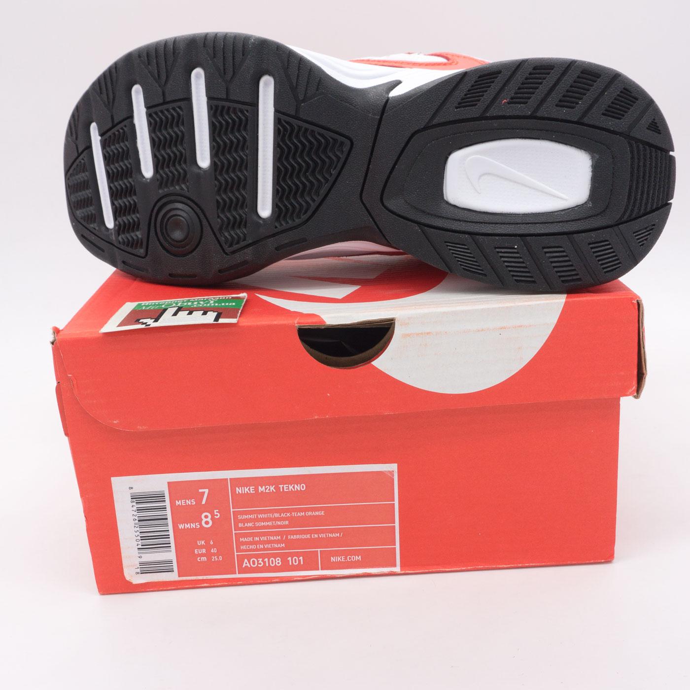 большое фото №5 Кроссовки Nike M2K Tekno белые с красним и синем. Топ качество!