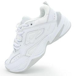 Кроссовки Nike M2K Tekno полностью белые. Топ качество!