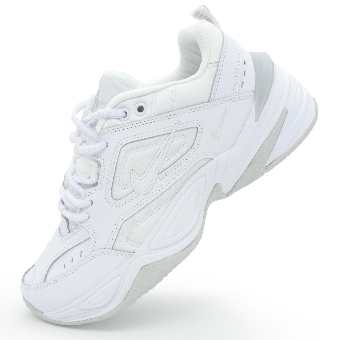 3d74d0f4 Кроссовки Nike M2K Tekno полностью белые, купить Найк M2K Текно в ...