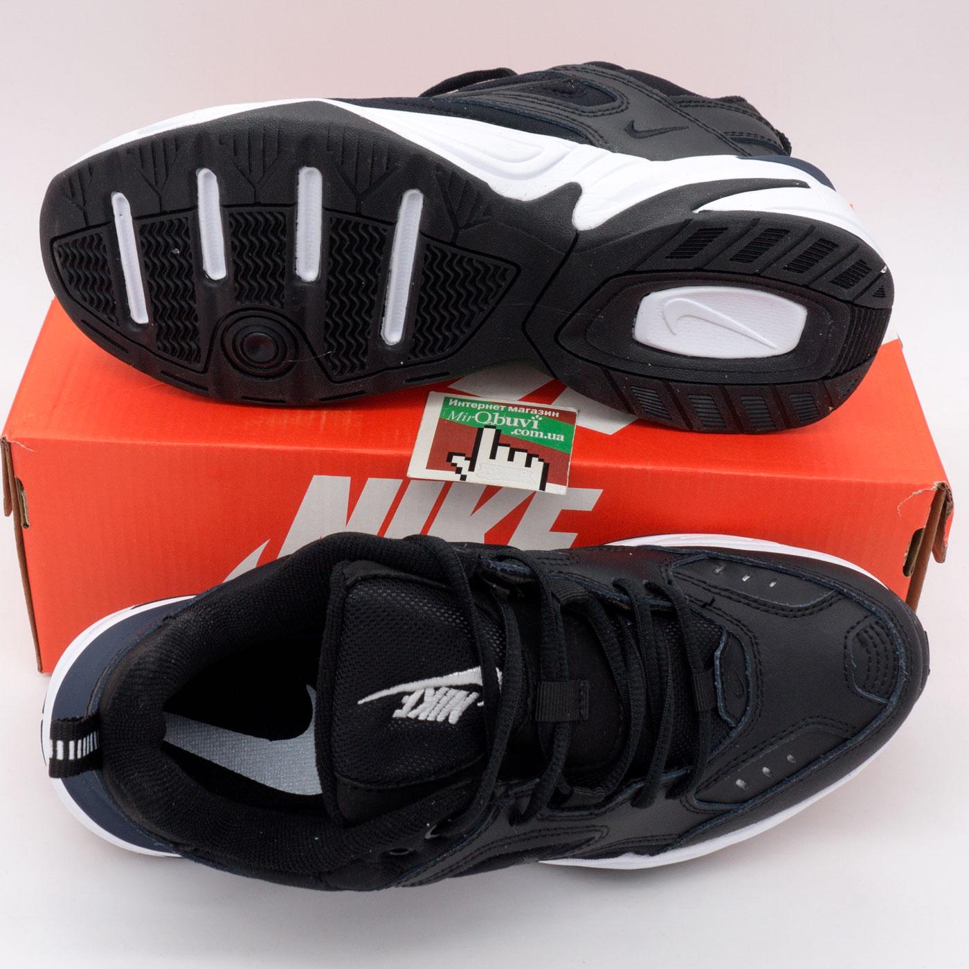 фото bottom Кроссовки Nike M2K Tekno черно-белые. Топ качество! bottom