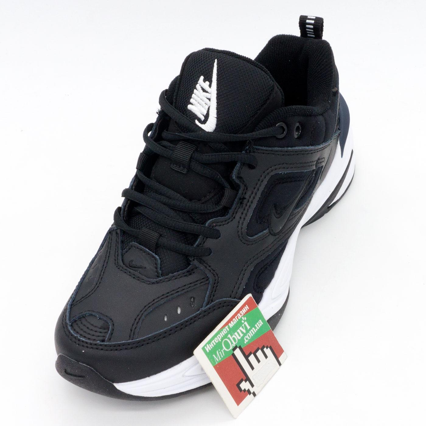 фото front Кроссовки Nike M2K Tekno черно-белые. Топ качество! front