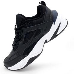 Кроссовки Nike M2K Tekno черно-белые. Топ качество!