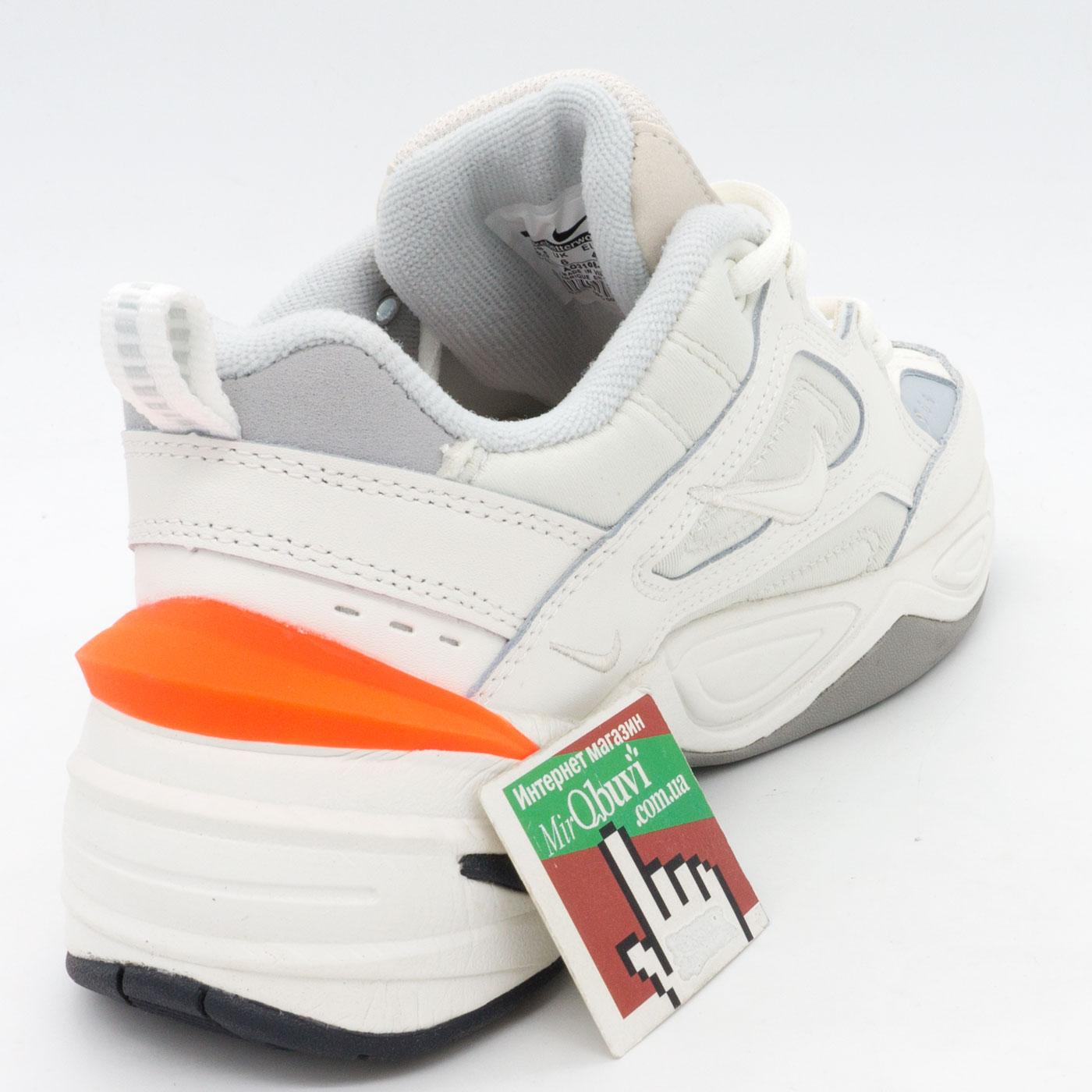 фото back Кроссовки Nike M2K Tekno белые с розовым. Топ качество! back