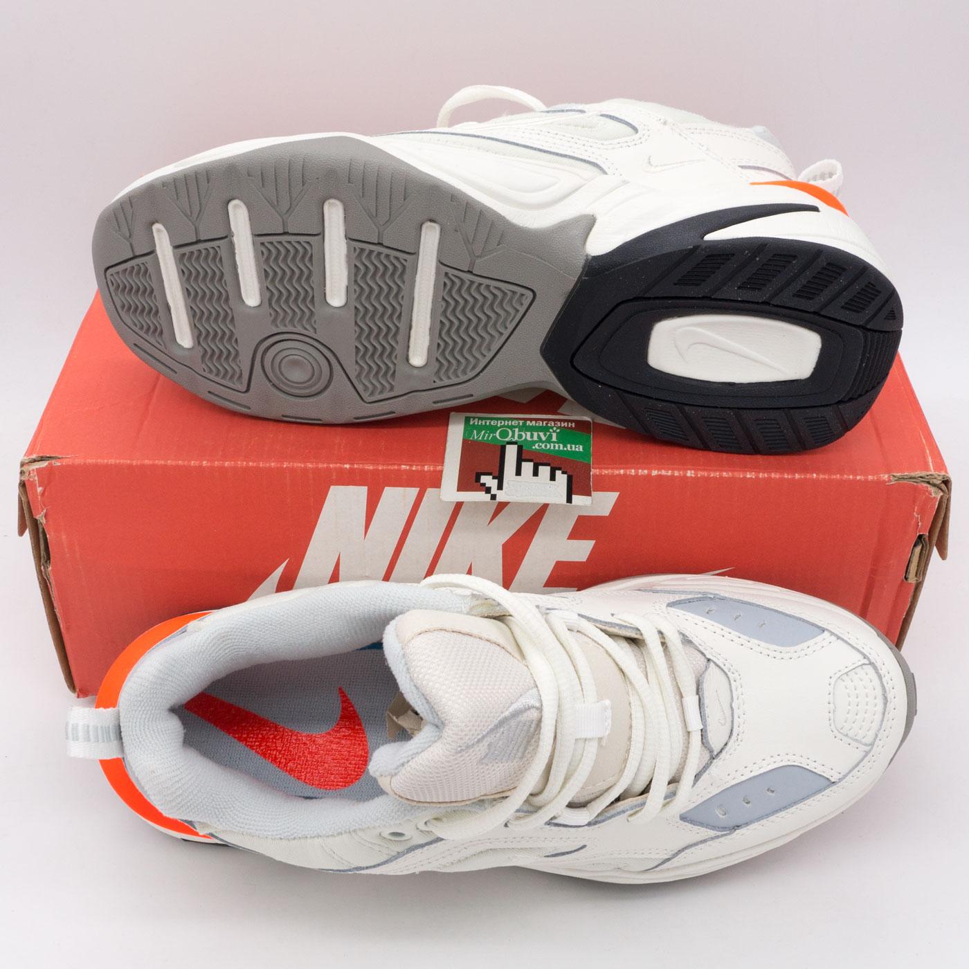 фото bottom Кроссовки Nike M2K Tekno белые с розовым. Топ качество! bottom