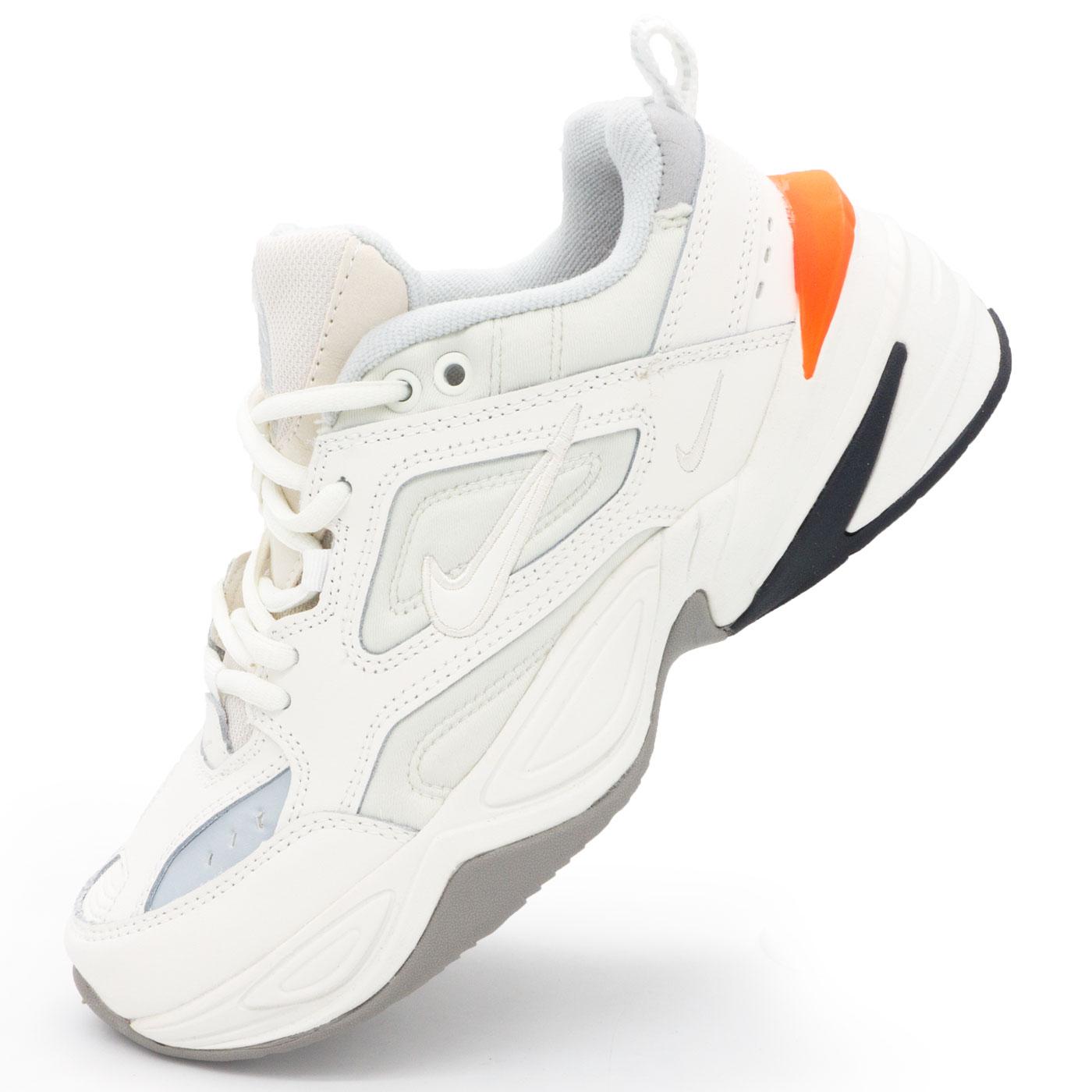 фото main Кроссовки Nike M2K Tekno белые с розовым. Топ качество! main