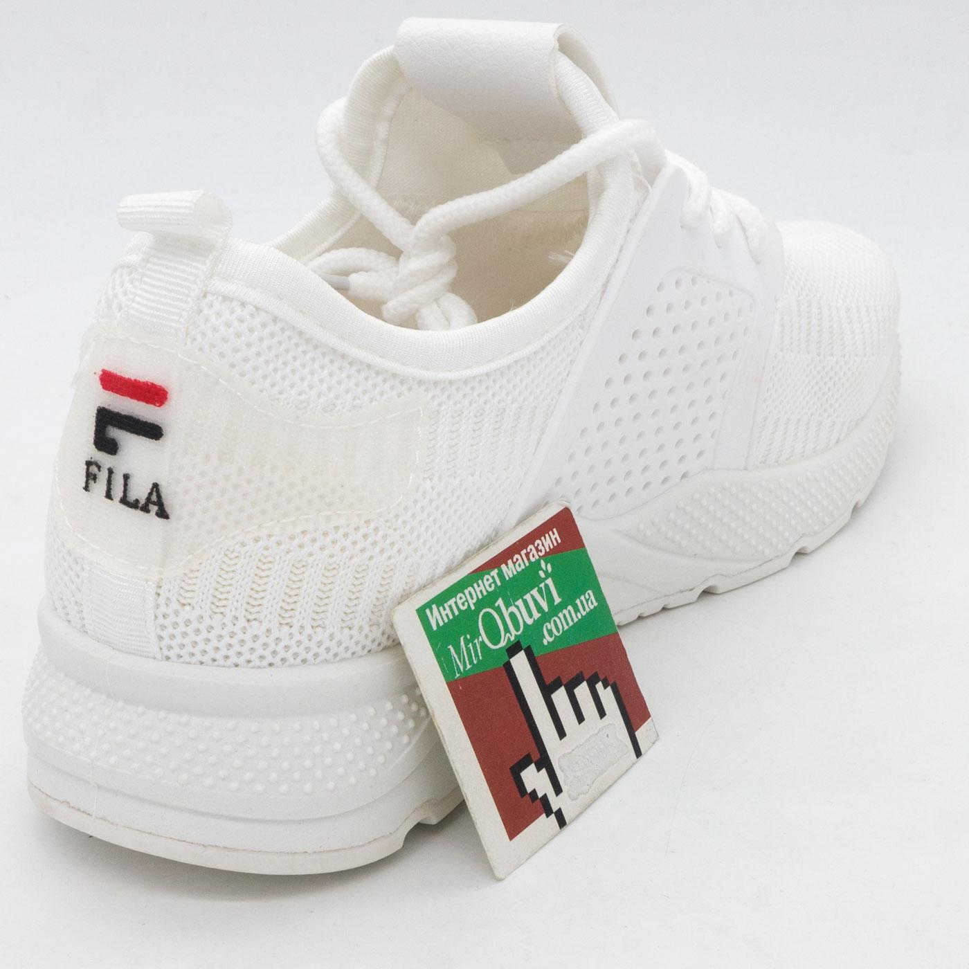 фото back Белые летние кроссовки Lady Lily - FILA back