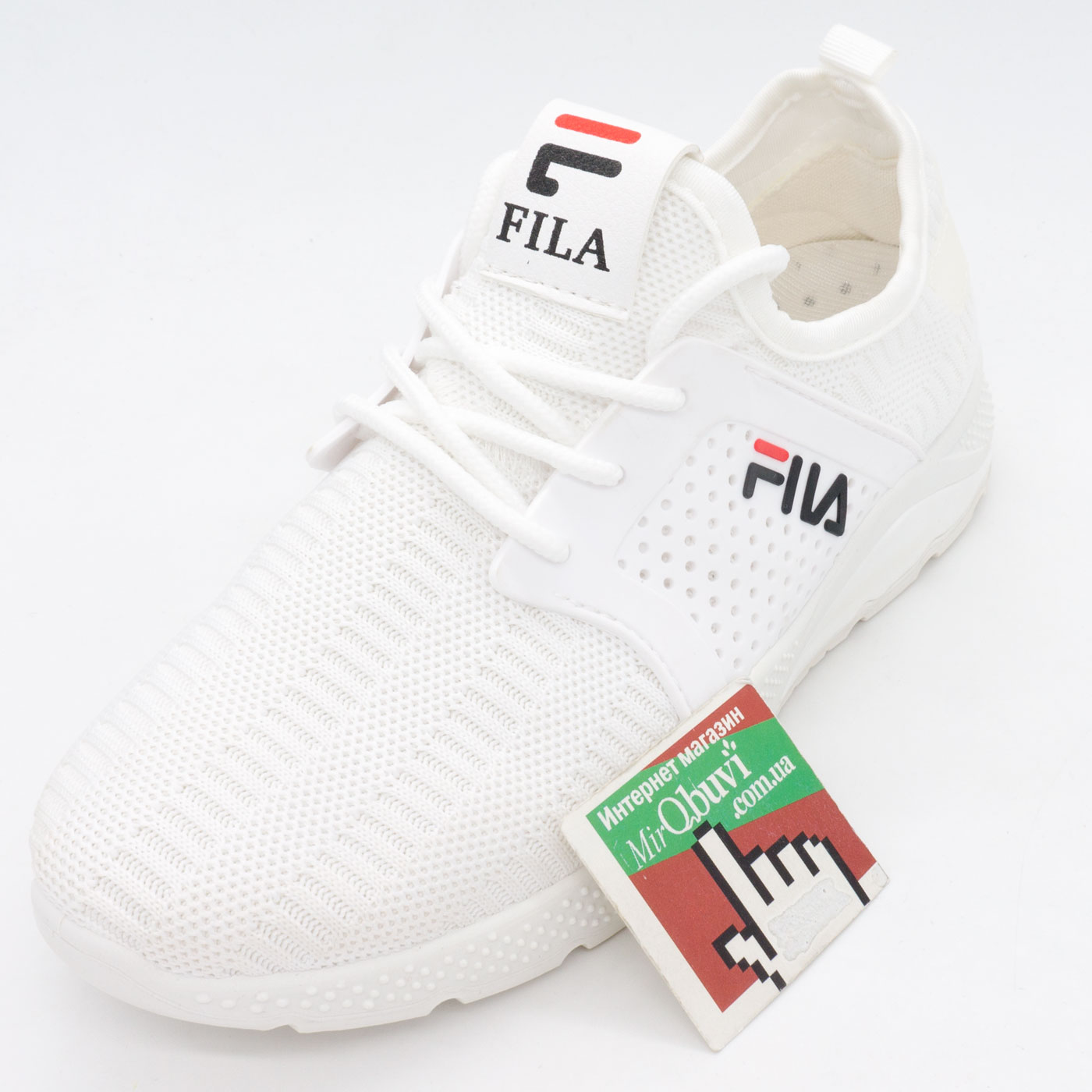 фото front Белые летние кроссовки Lady Lily - FILA front