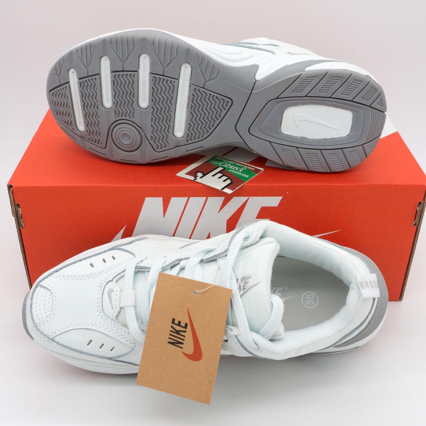 фото bottom Кроссовки Nike M2K Tekno полностью белые bottom
