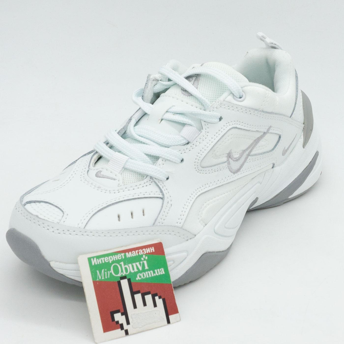 фото front Кроссовки Nike M2K Tekno полностью белые front