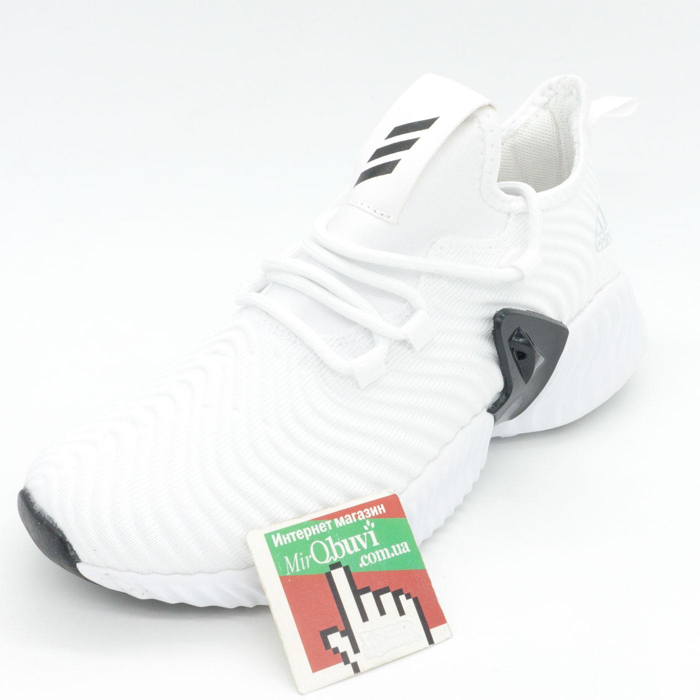 фото front Женские кроссовки Adidas Alphabounce Instinct белые. front