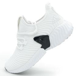 Женские кроссовки Adidas Alphabounce Instinct белые.