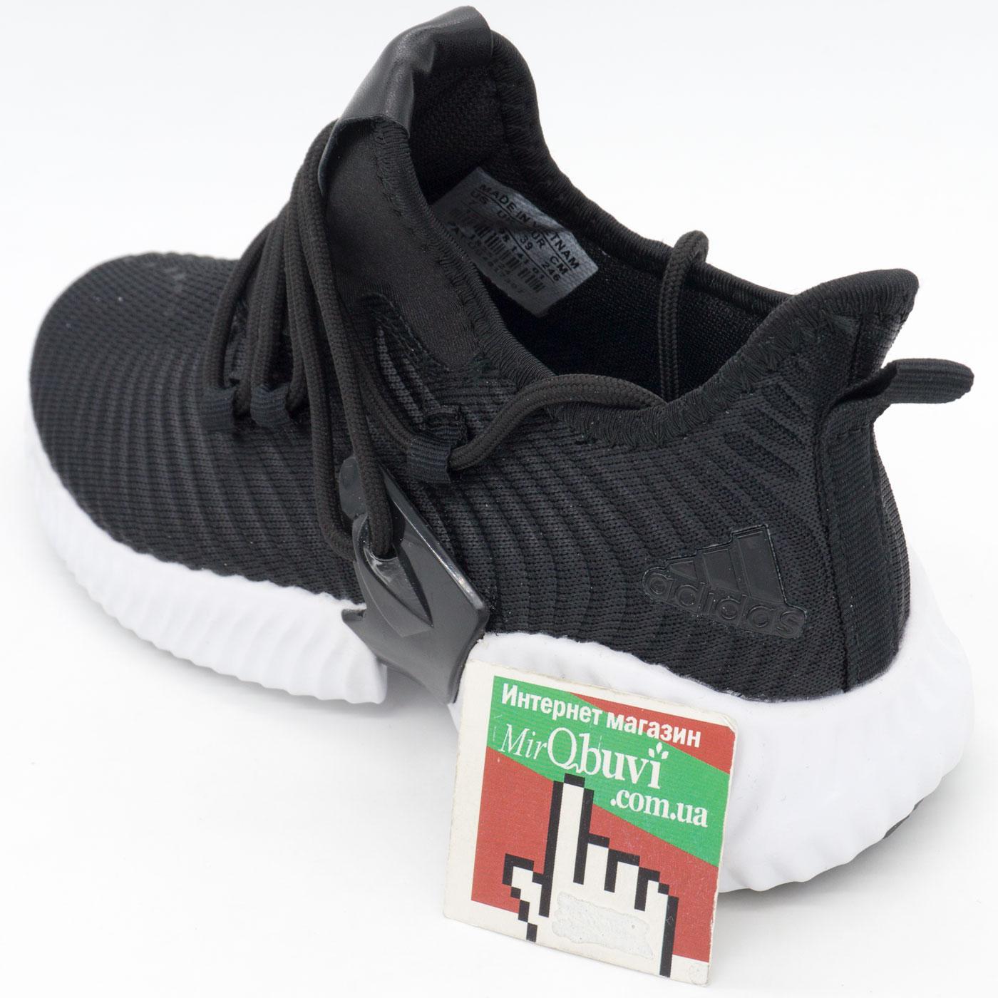 фото back Женские кроссовки Adidas Alphabounce Instinct черно-белые. back