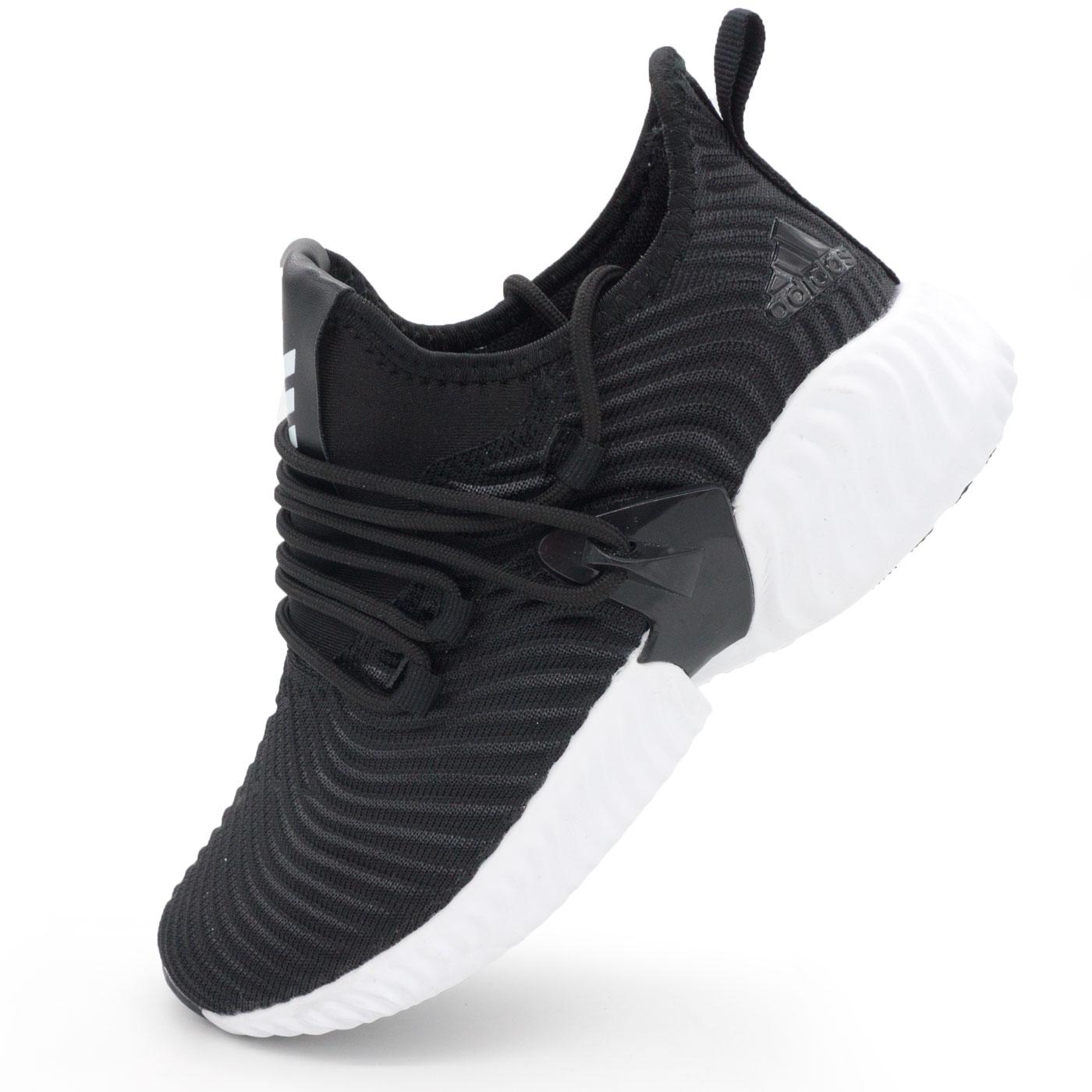 фото main Женские кроссовки Adidas Alphabounce Instinct черно-белые. main