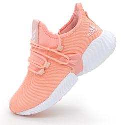 Женские кроссовки Adidas Alphabounce Instinct персик.
