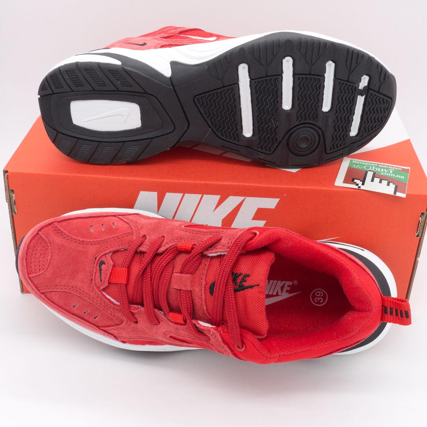 фото bottom Кроссовки Nike M2K Tekno красные bottom