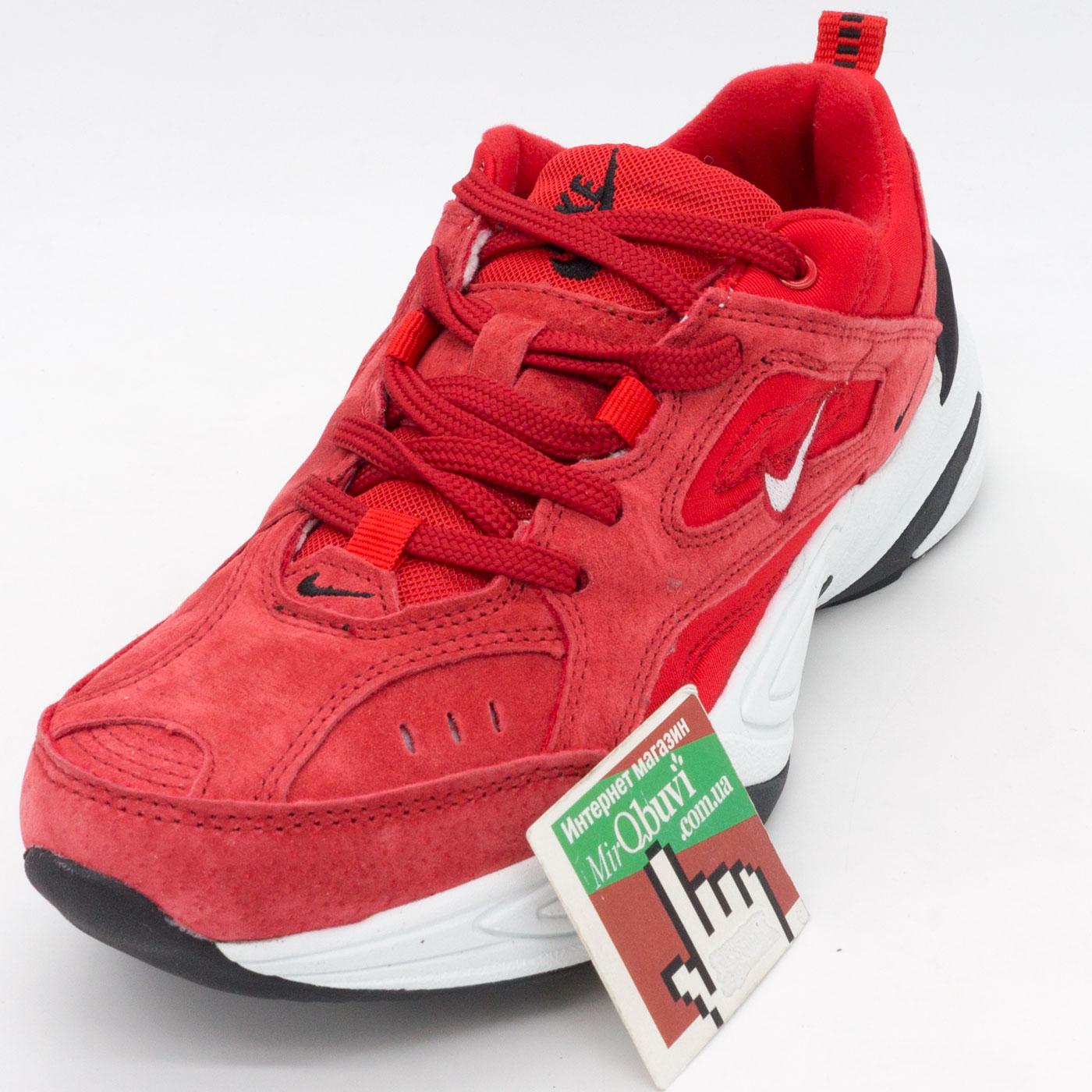 фото front Кроссовки Nike M2K Tekno красные front