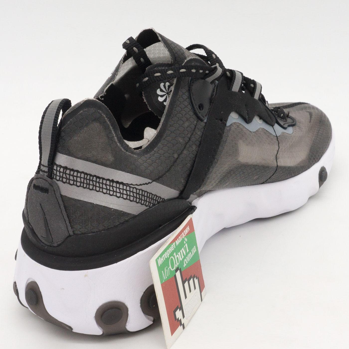 фото back Мужские кроссовки Nike React 87 Undercover черные. Топ качество! back