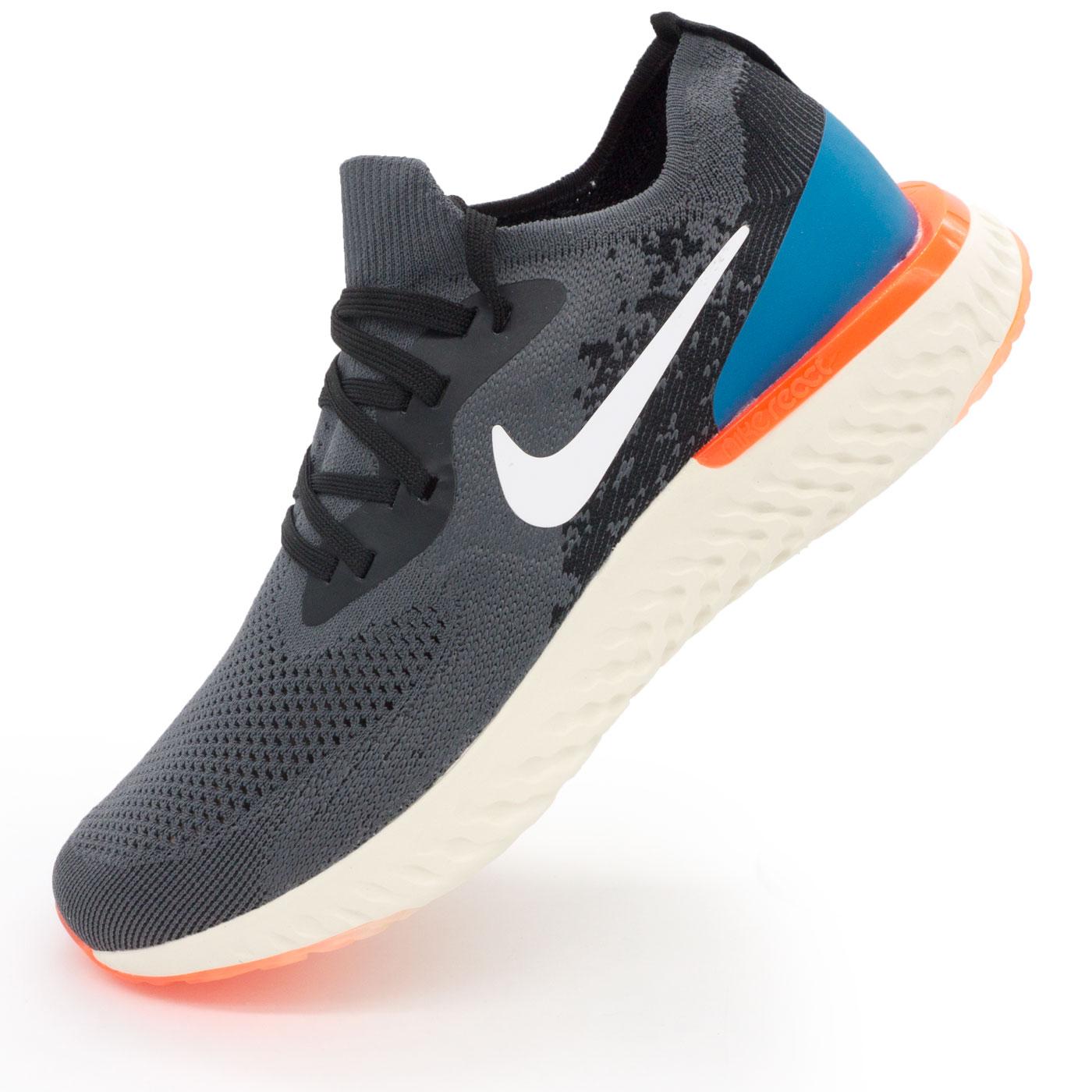 фото main Мужские кроссовки для бега Nike Epic React Flyknit пепел. Топ качество! main
