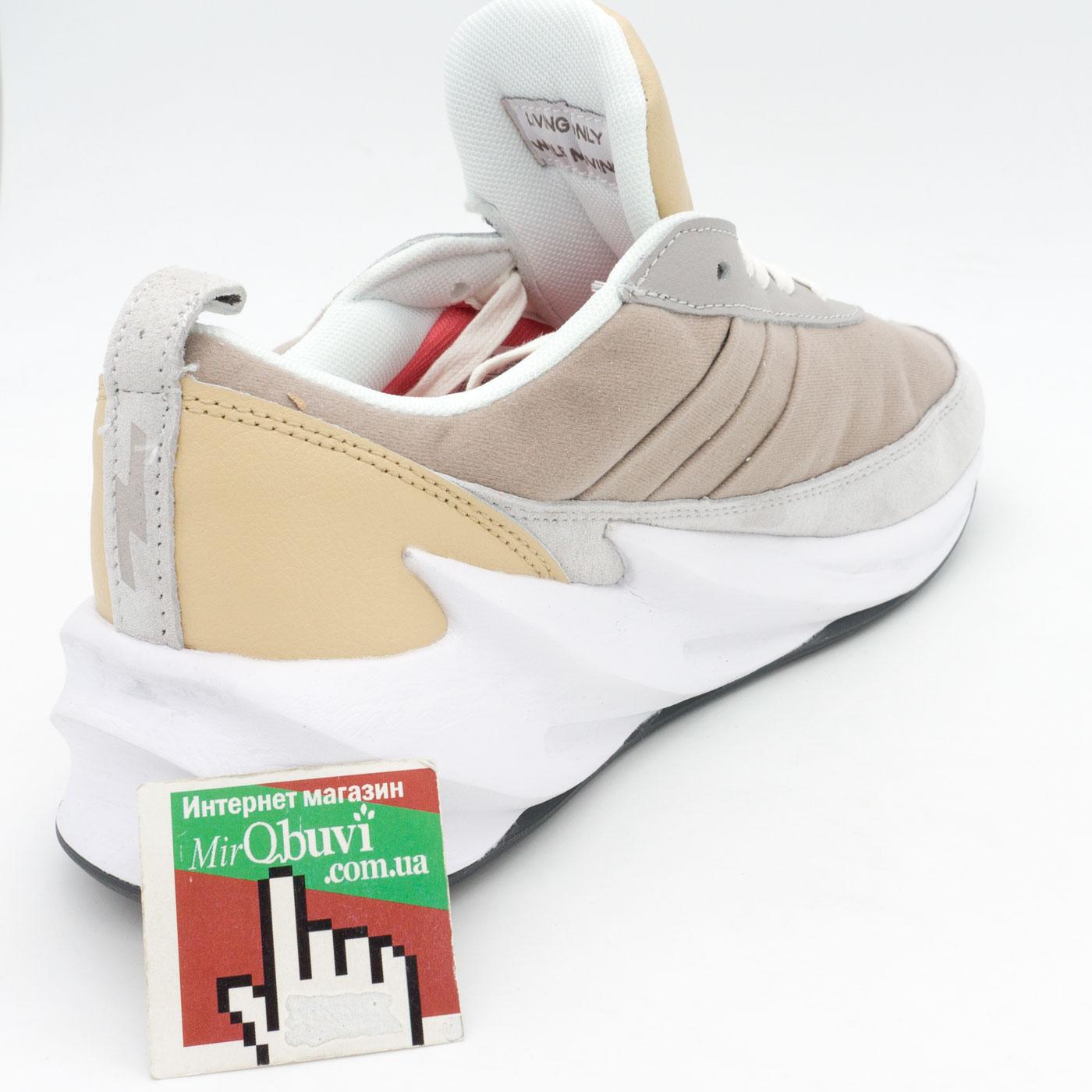 фото back Мужские кроссовки Adidas Sharks бежевые. Топ качество! back