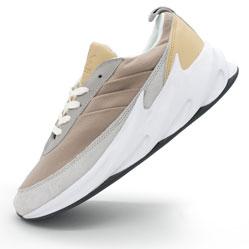 Мужские кроссовки Adidas Sharks бежевые. Топ качество!