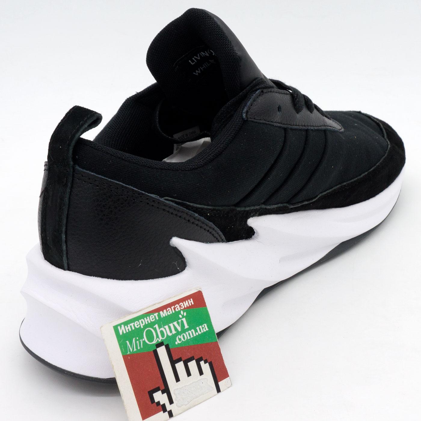 фото back Мужские кроссовки Adidas Sharks черно-белые. Топ качество! back