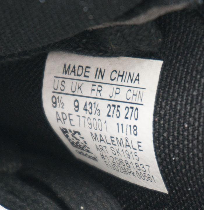 большое фото №6 Мужские кроссовки Adidas Sharks черно-белые. Топ качество!