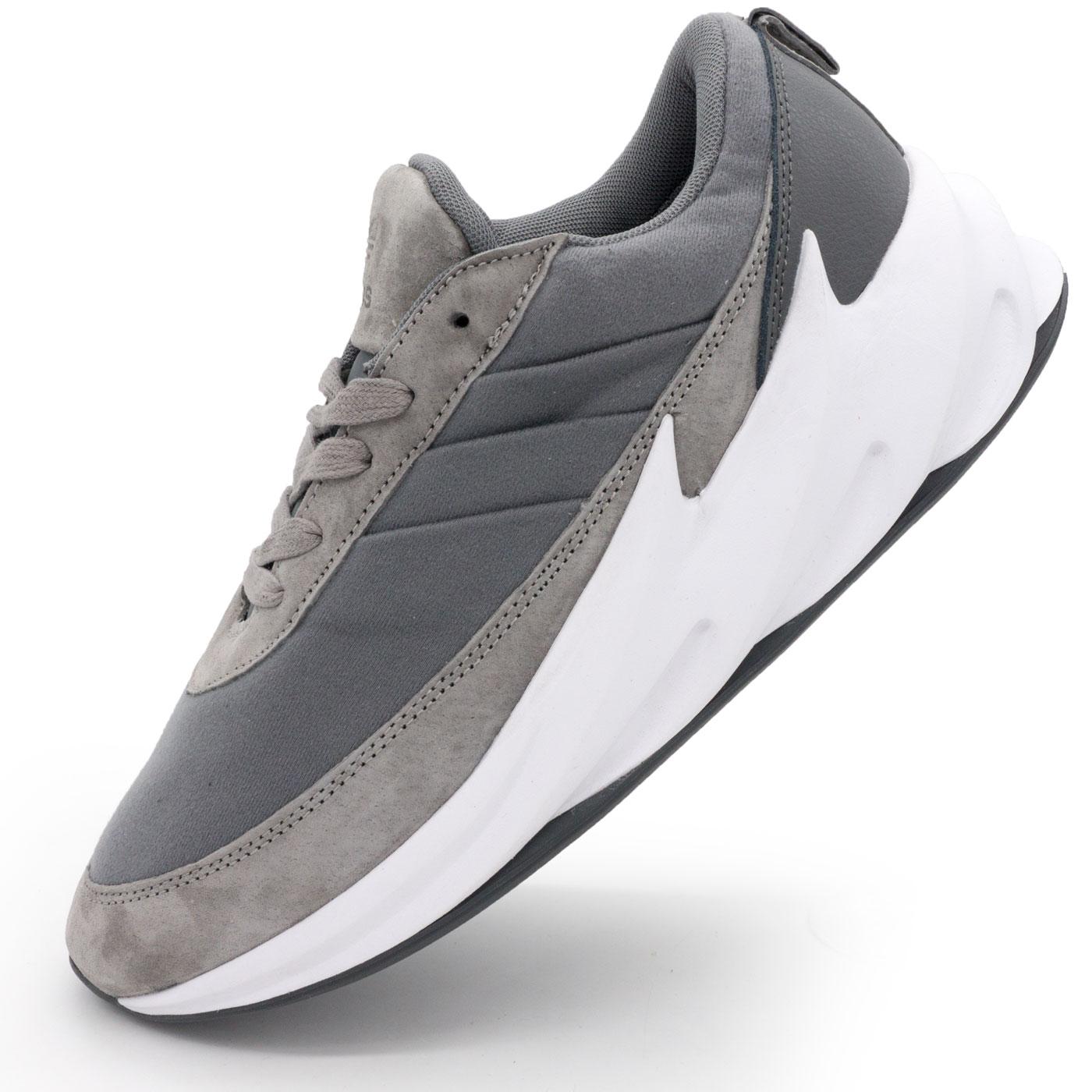 фото main Мужские кроссовки Adidas Sharks серые. Топ качество! main