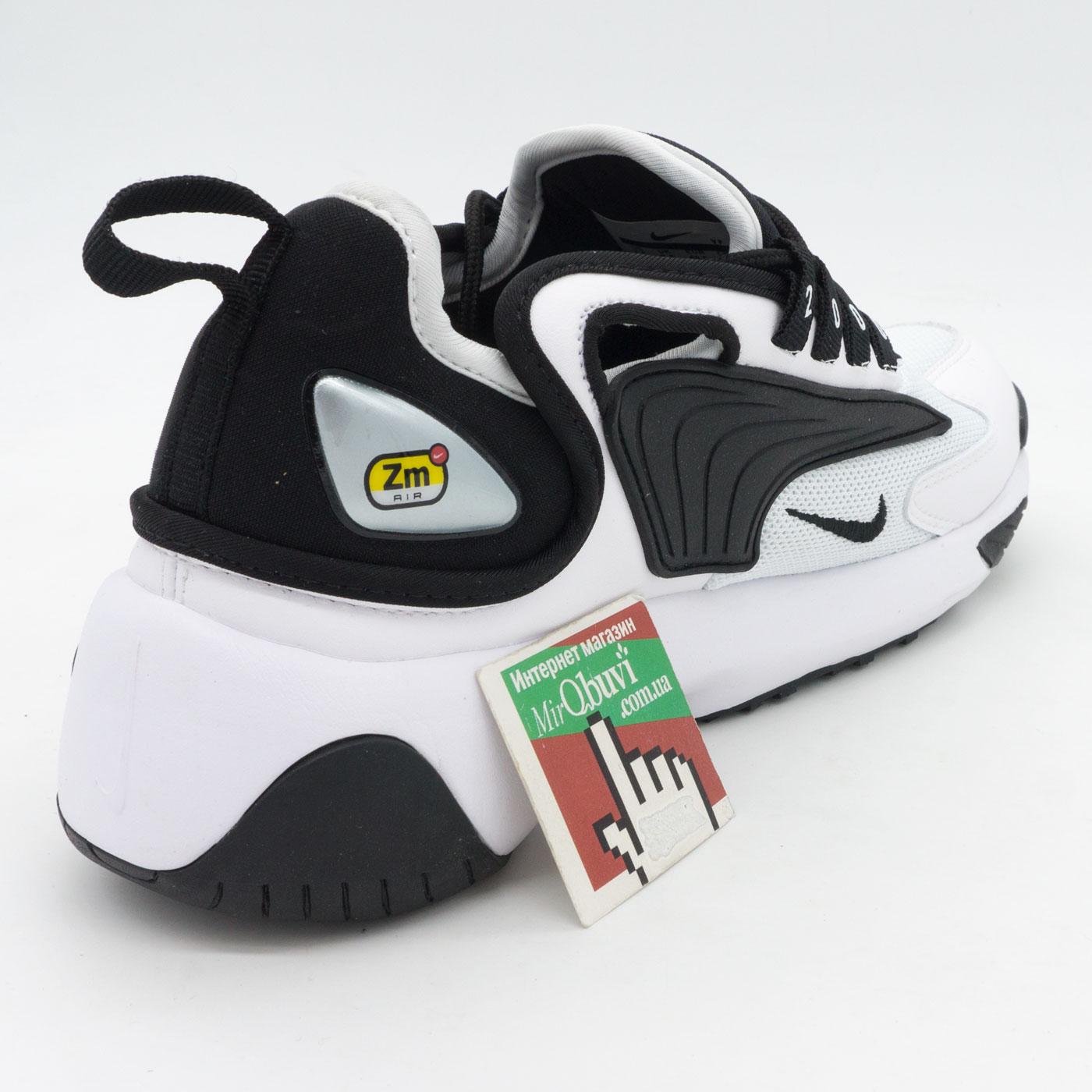 фото back Кроссовки Nike Zoom 2K черные. Топ качество! back