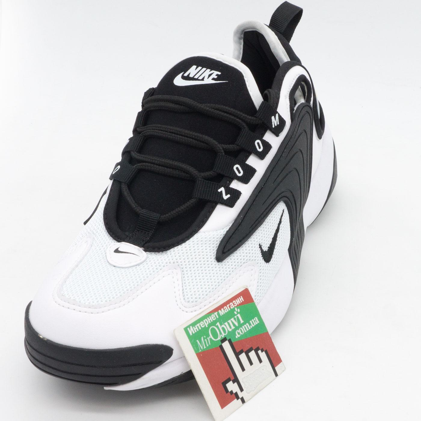 фото front Кроссовки Nike Zoom 2K черные. Топ качество! front