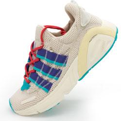 Женские кроссовки Adidas Lxcon (Лексикон) серые. Топ качество!
