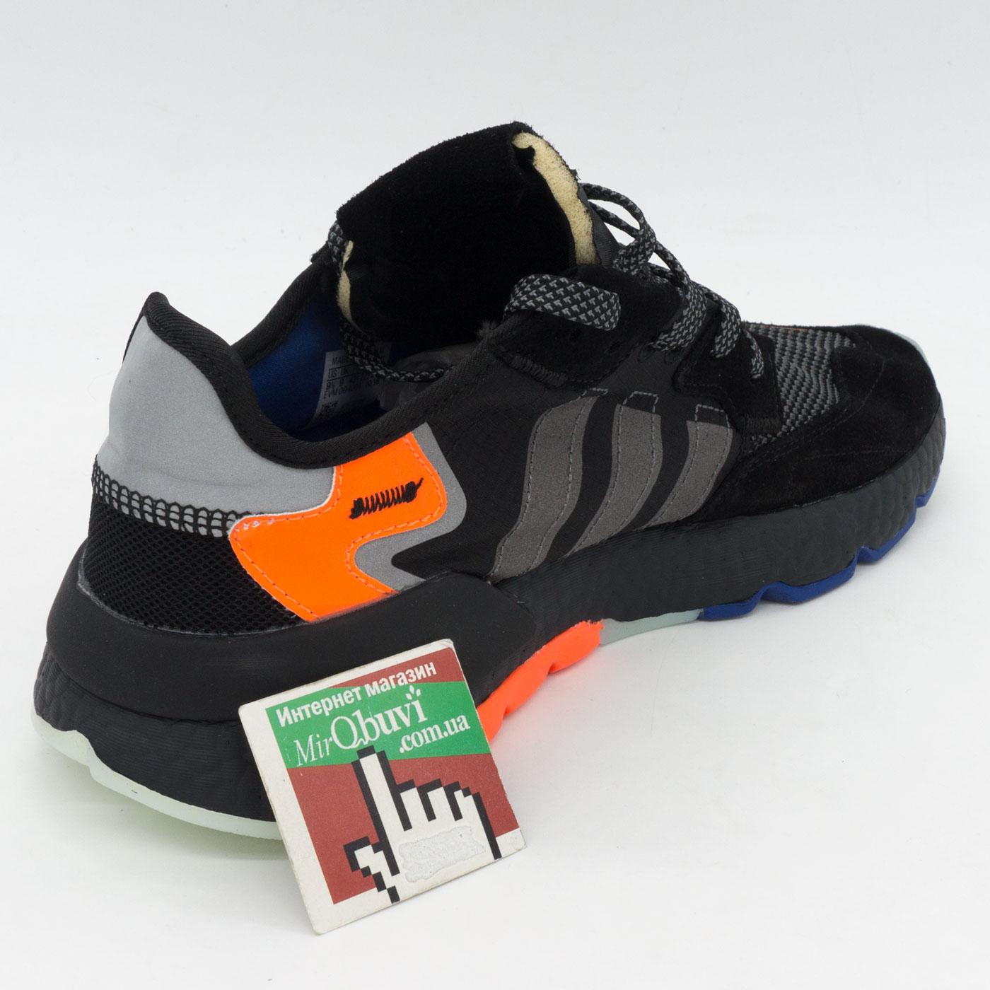 фото back Мужские кроссовки Adidas Nite Jogger черные. Топ качество! back