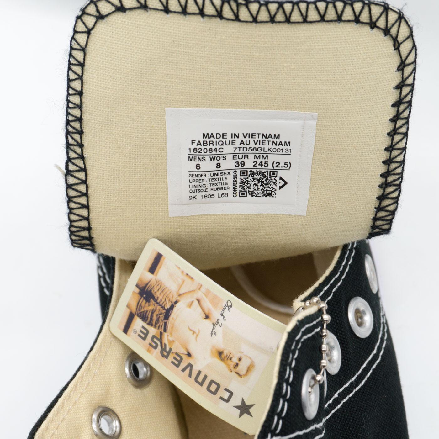 фото back Кеды Converse высокие черно-белые - Топ качество! -распродажа back
