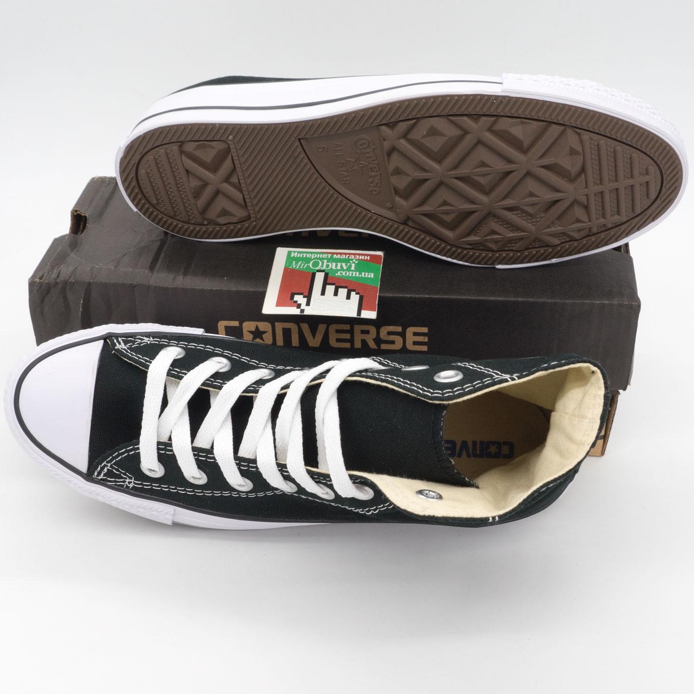 фото bottom Кеды Converse высокие черно-белые - Топ качество! -распродажа bottom