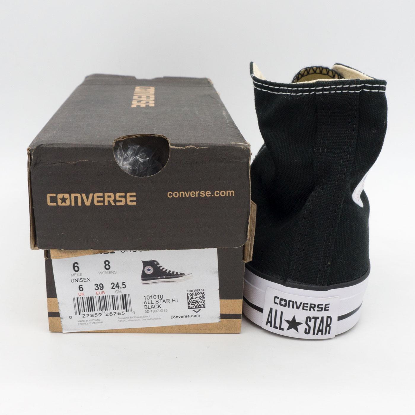 фото front Кеды Converse высокие черно-белые - Топ качество! -распродажа front