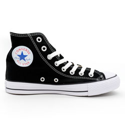 Кеды Converse высокие черно-белые - Топ качество! -распродажа