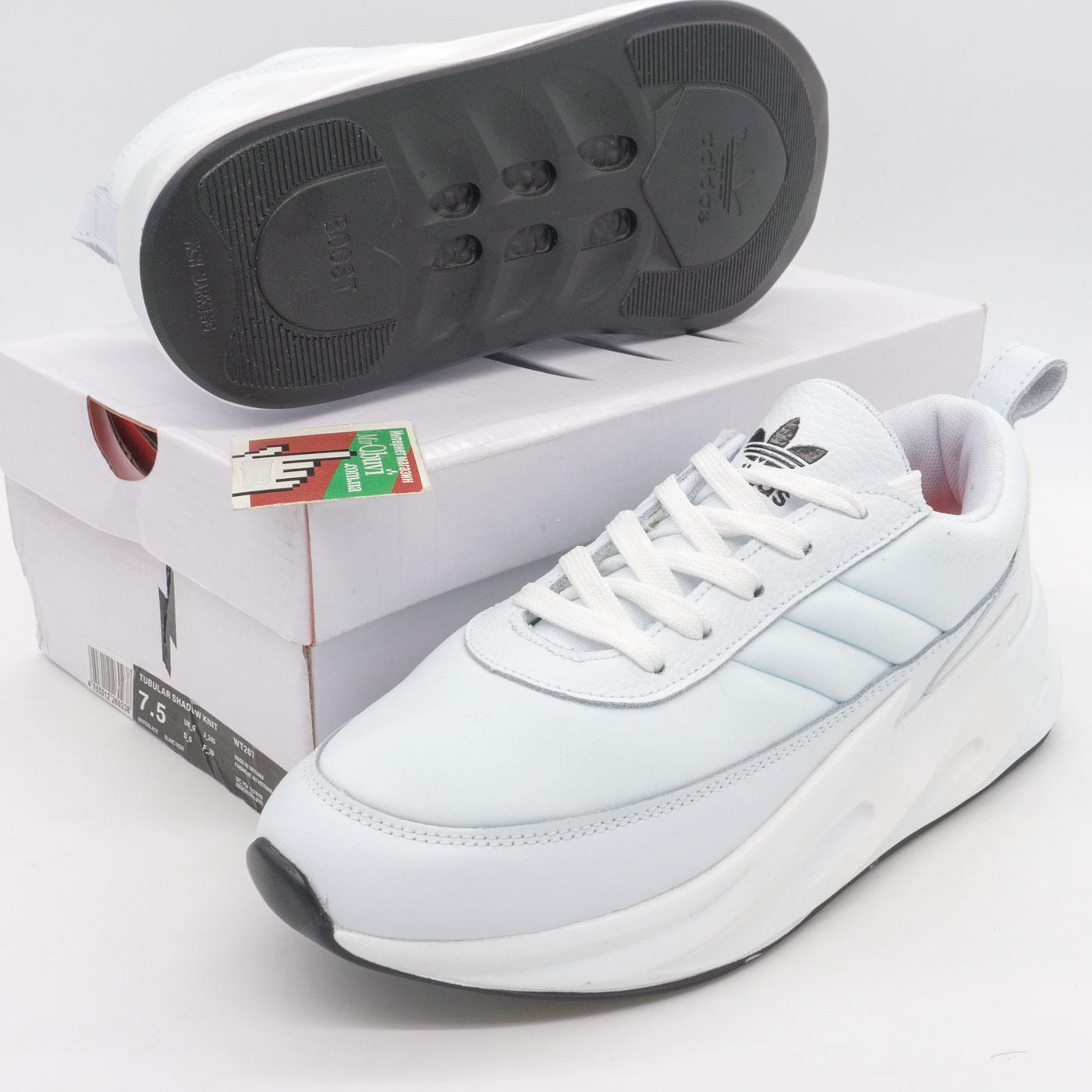 фото front Женские кроссовки Adidas Sharks белые. front