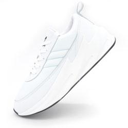 Женские кроссовки Adidas Sharks белые.