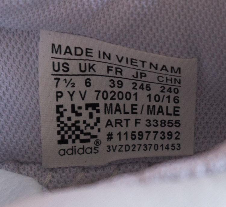 большое фото №6 Женские кроссовки Adidas Sharks белые.