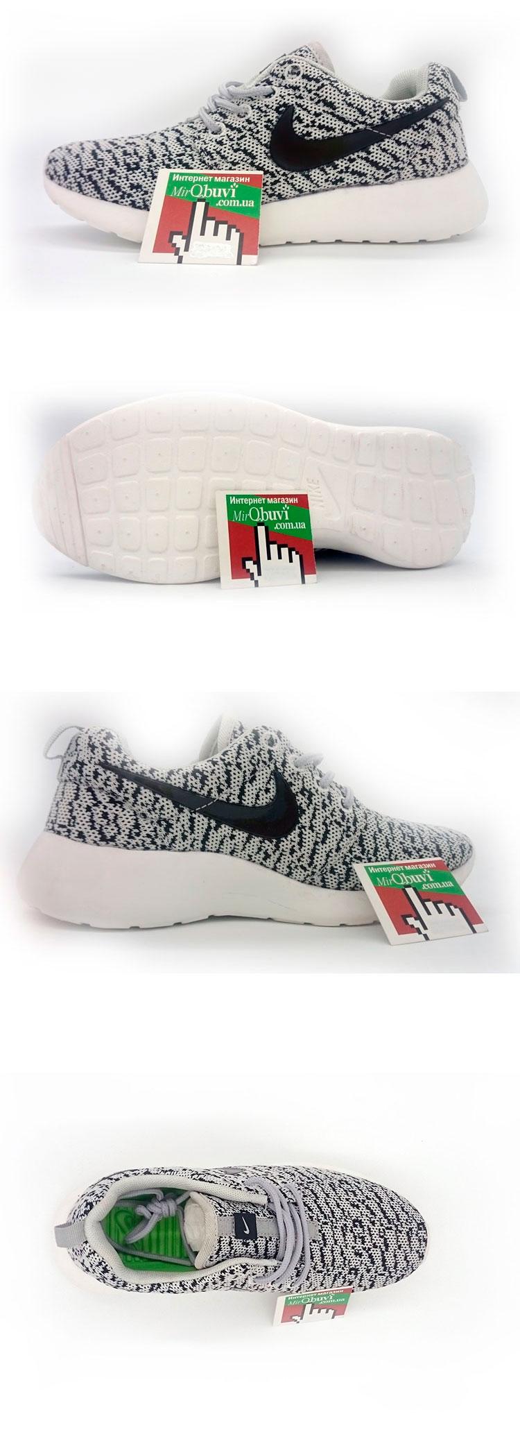 большое фото №5 Nike Roshe Run зебра. Топ качество!!!