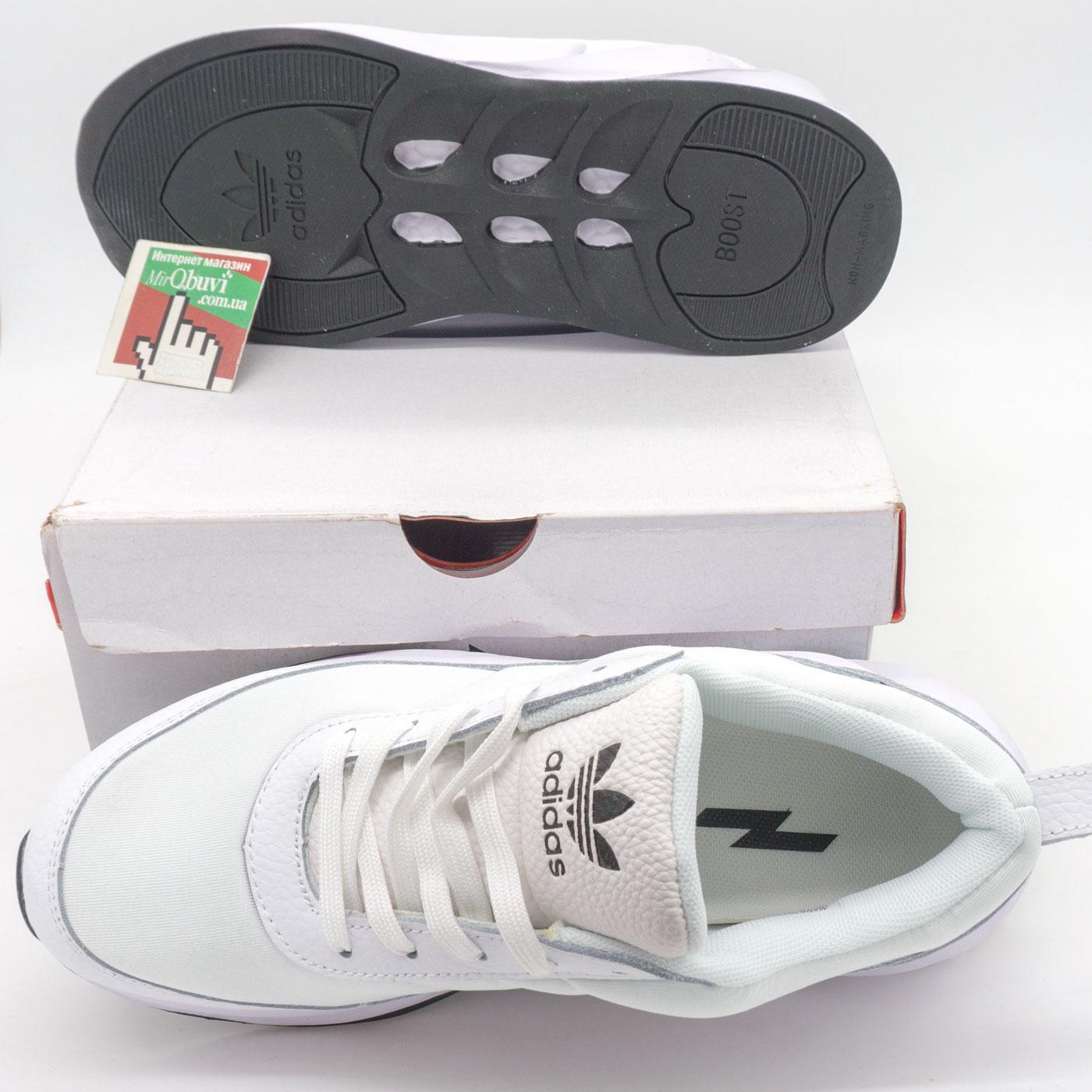 фото back Женские кроссовки Adidas Sharks белые. Топ качество! back