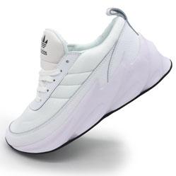 Женские кроссовки Adidas Sharks белые. Топ качество!