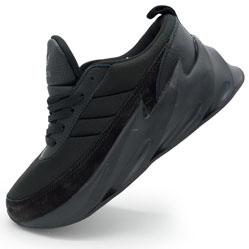 Женские кроссовки Adidas Sharks полностью черно. Топ качество!