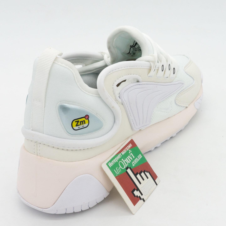фото back Кроссовки Nike Zoom 2K белые. Топ качество! back