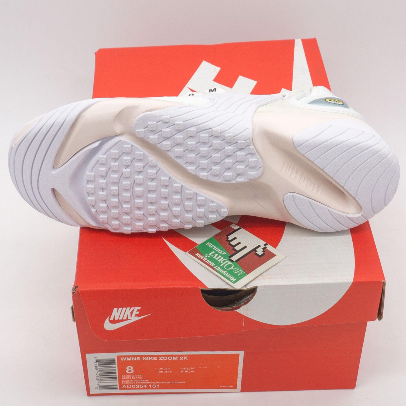 фото bottom Кроссовки Nike Zoom 2K белые. Топ качество! bottom