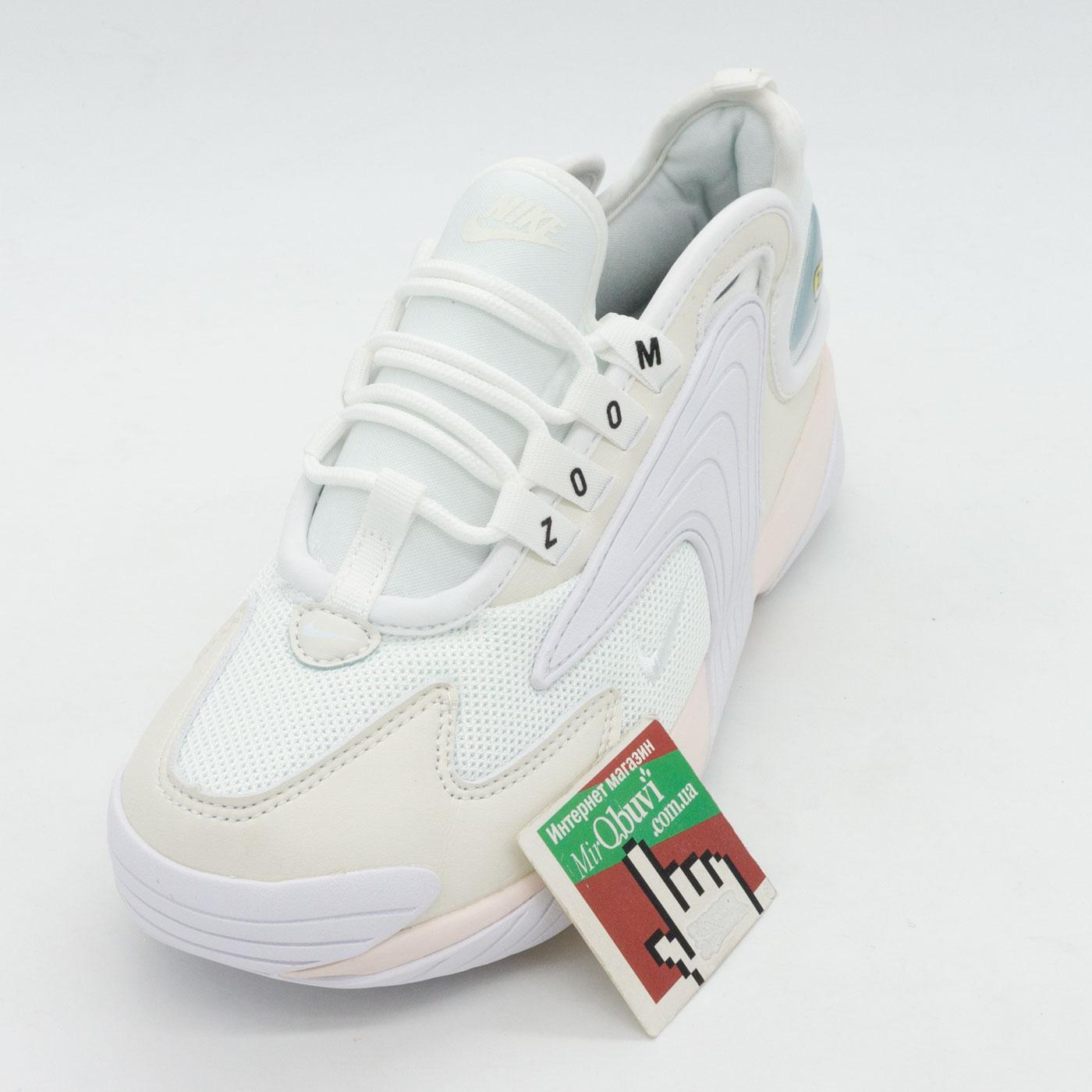 фото front Кроссовки Nike Zoom 2K белые. Топ качество! front