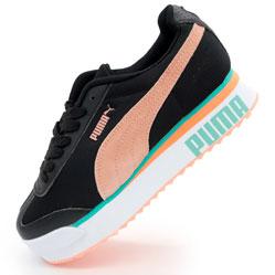 Женские кроссовки Puma Pialdqom Tiger черные. Топ качество!