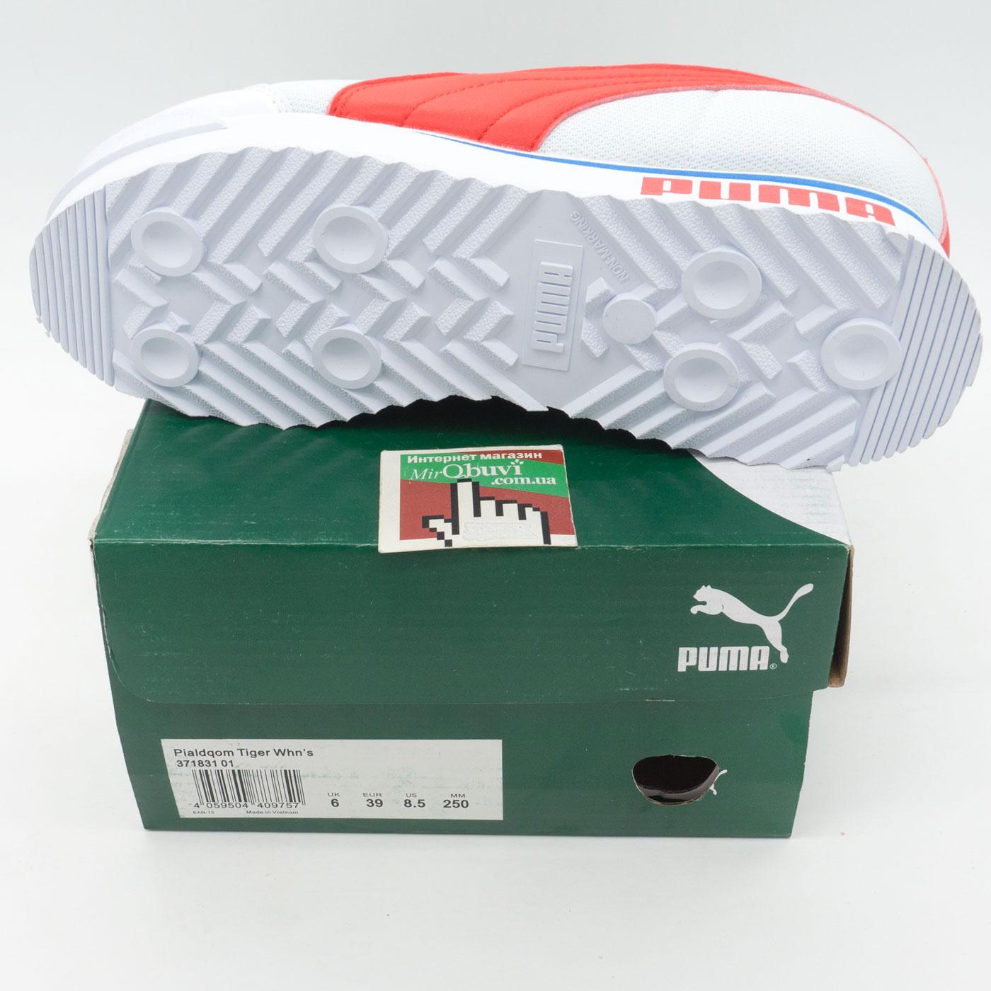 фото bottom Женские кроссовки Puma Pialdqom Tiger белые. Топ качество! bottom